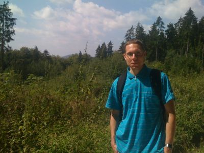 Taunus-Wald und Panschk davor